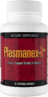 Daiwa Plasmanex 1 – Blood Circulation Supplement – Natural Supplements for Circulation, Leg and Vein Health, 60 Vegetable Capsules