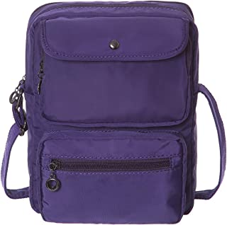 Crossbody Bag for Women,HAIDEXI Women RFID Blocking Multi-Pocketed Nylon Shoulder Bag Purse Travel Bag with Credit Card Slots