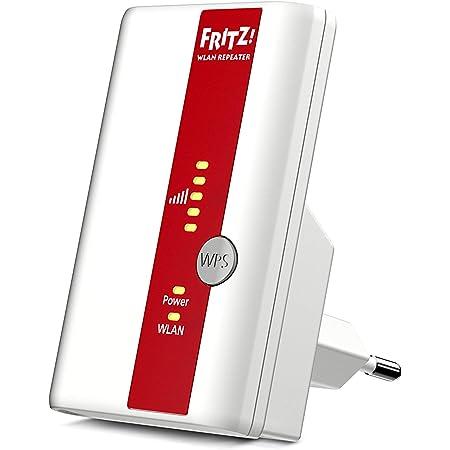 AVM FRITZ!WLAN Repeater 310 (300 Mbit/s, WPS), weiß, deutschsprachige Version