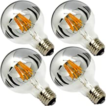 crown mirrored light bulbs