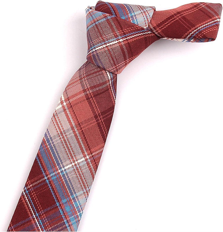 Cotton Plaid Ties Men Women Casual Purple Groom Necktie Wedding Party Boys Girls SuitsTie Skinny Gravatas