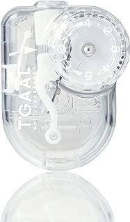 Kutsuwa STAD Angle Adjustable Pencil Sharpener T'GAAL, Transparent (RS028CL)