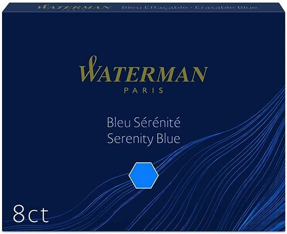 Waterman Tintenpatrone International Packung Mit 6 Stück Tender Purple Bürobedarf Schreibwaren