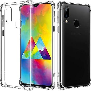 AIFIVE Funda Samsung Galaxy M20, Carcasa Silicona Transparente ...