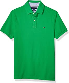 Mens Classic Polo Shirt 100/% Cotton Short Sleeve Plain Pique Collared Tee Top