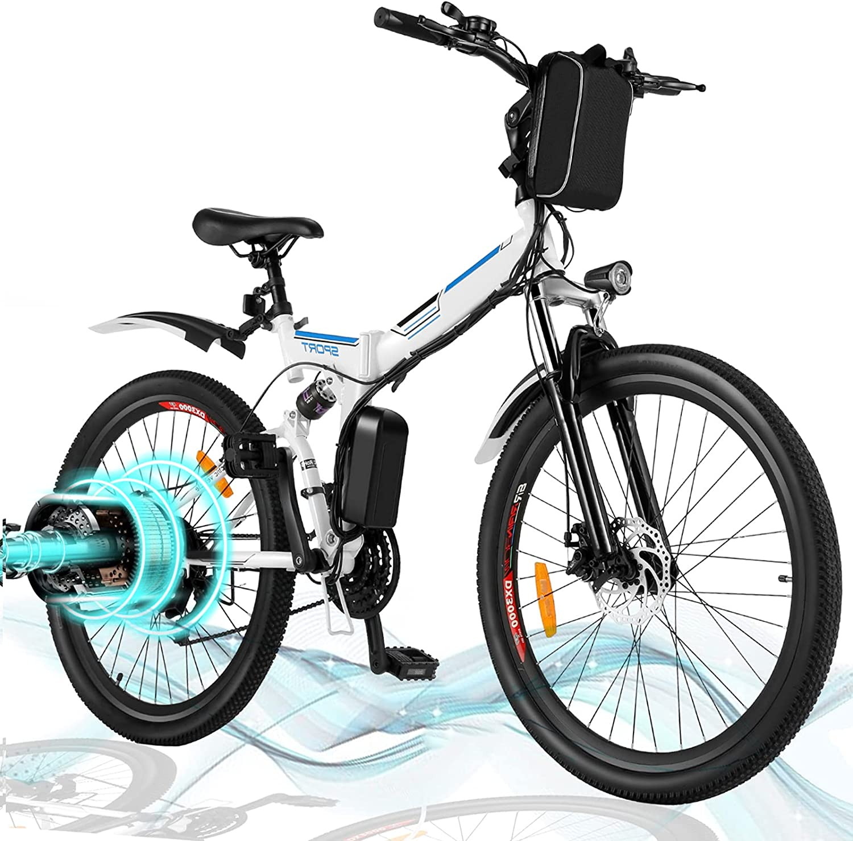 Angotrade 26 inch Electric Bike Sale SALE% OFF Speed Folding E-Bike Cash special price Mountain 21