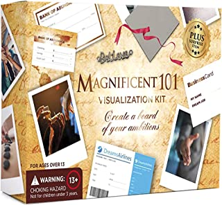 Magnificent Vision Board Kit - Create a Vision for Your Dream Life - Use The Power of Visualization to Achieve Your Dreams...