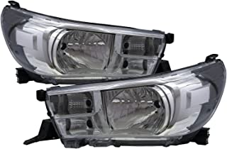 CABI AN120/AN130 Hilux Revo 2015 present Eighth generation - Pickup 2D/4D Clear Headlight Headlamp for TOYOTA LHD