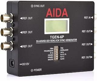 AIDA Imaging TGEN-6P 3G-SDI/HD-SDI GENLOCK Reference SYNC Generator
