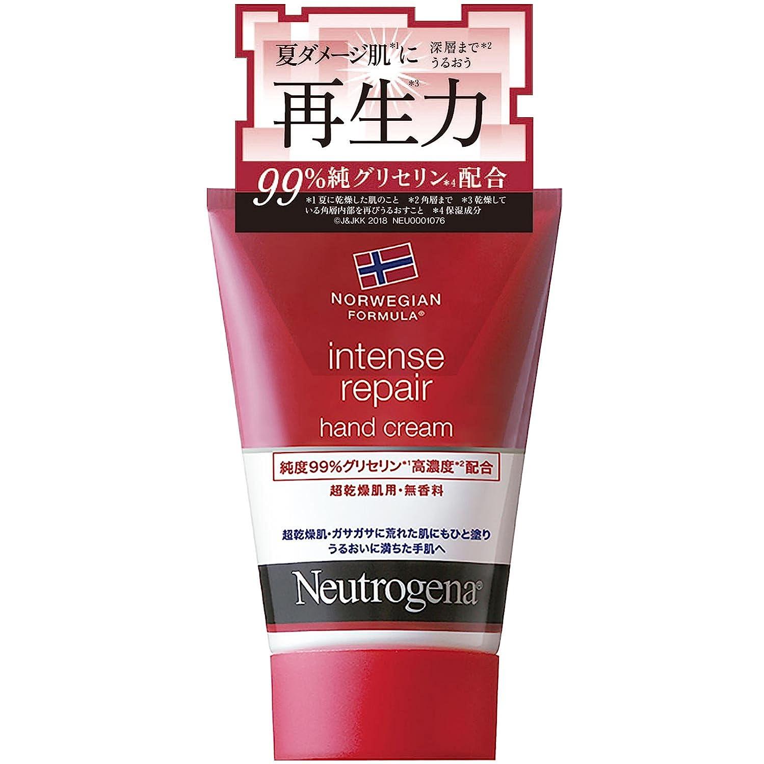 通知通知他のバンドでNeutrogena(ニュートロジーナ) ノルウェーフォーミュラ インテンスリペア ハンドクリーム 超乾燥肌用 無香料 50g