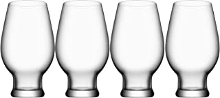 Orrefors Beer India Pale Ale 15.5 Ounce Glass, Set of 4