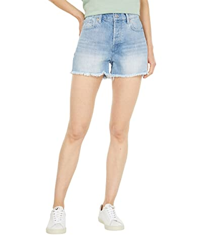 7 For All Mankind Patched Monroe Cutoffs Shorts in Laurel Canyon