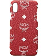 MCM - White Logo Visetos Smart Phone Case