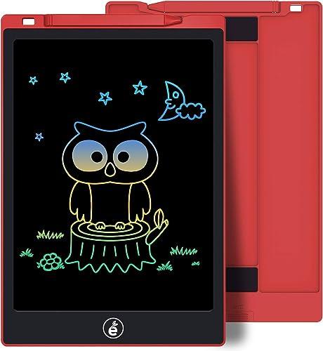 Sunany 11 Pulgadas Color Tableta de Escritura LCD, Tableta Escritura con Teclas Borrables, Regalos para Niños, Portát...