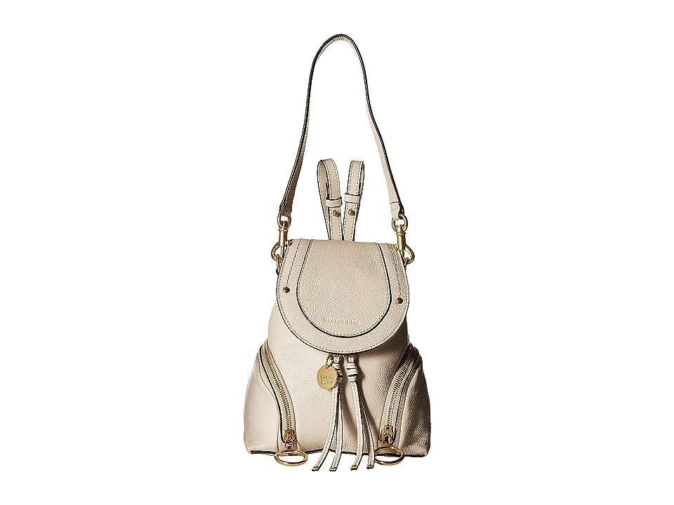 See by Chloe Olga Mini Backpack (Cement Beige) Backpack Bags