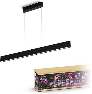 Philips Hue Ensis hanglamp - wit en gekleurd licht - zwart