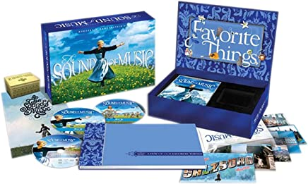 音乐之声45周年限量蓝光礼盒版(2BD+DVD9)(蓝光碟)