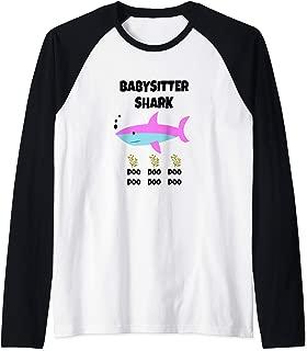 for Babysitters And Older Sibling Raglan Baseball Tee