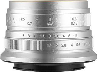 【国内正規品】七工匠 7artisans 25ES 25mm F1.8 ソニーE (APS-C) シルバー