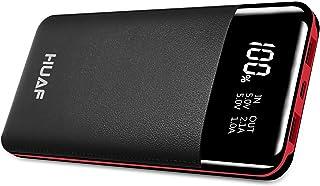 モバイルバッテリー大容量 24000mAh【PSE認証済】長持ち LCD残量表示 2つ出力ポート 薄型 軽量 持ちやすい 地震/災害/旅行/出張/緊急用など大活躍