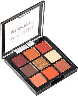 Swiss Beauty Ultimate 9 Color Eyeshadow Palette, Eye MakeUp, Multicolor-04, 9g