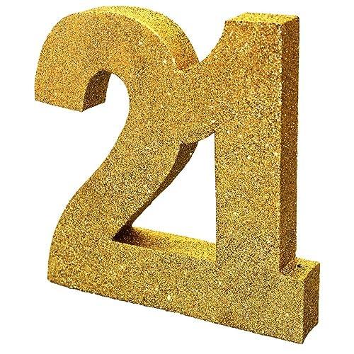 21st Birthday Table Decorations Amazon Co Uk