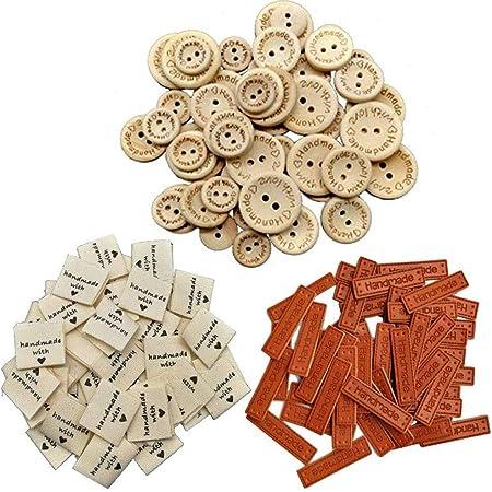 100 St/ück Antique Herz Charm Made with Love Charm Anh/änger Handmade kn/öpfe Metall Label Hand Made DIY Handwerk Schmuck Herstellung Zubeh/ör Basteln Dekorationen