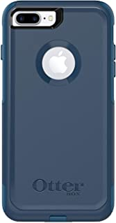 OtterBox Commuter Series Case for iPhone 8 Plus & iPhone 7 Plus (ONLY) - Bulk Packaging - Bespoke Way (Blazer Blue/Stormy SEAS Blue)