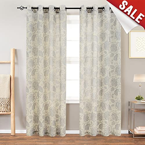 Neutral Curtains for Living Room: Amazon.com