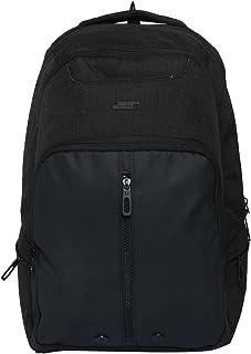 United Colors of Benetton 48 cms Black Laptop Backpack (0IP6LPOSTP09I)