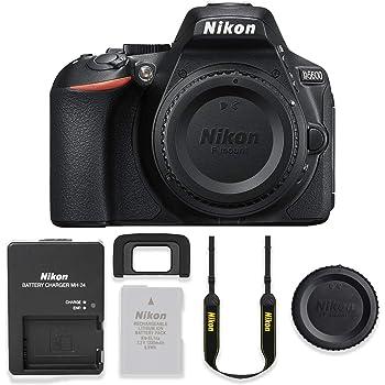 Nikon D5600 24.2MP DSLR Body Only Basic Camera Kit (Renewed)
