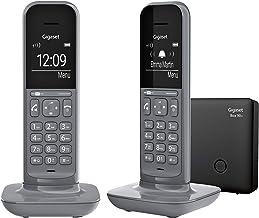 Gigaset CL390A Duo, 2 Schnurlose Telefon mit Anrufbeantworter, 2 Akustik-Profile, extra..