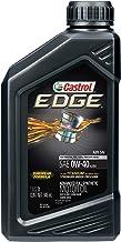 Castrol 06518 EDGE 0W-40 A3/B4 Advanced Full Synthetic Motor Oil, 1 Quart, 6 Pack