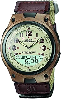 Casio Casual Watch Analog-Digital Display Quartz for Men AW-80V-5BV