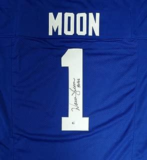 warren moon autographed jersey