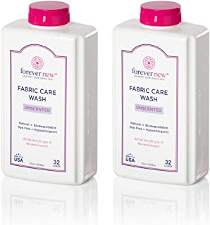 Forever New Granular Fabric Care Wash Unscented - 64oz (2pack) Natural Laundry Detergent