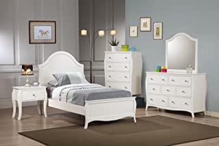Coaster Home Furnishings Dominique 4-Drawer Chest White