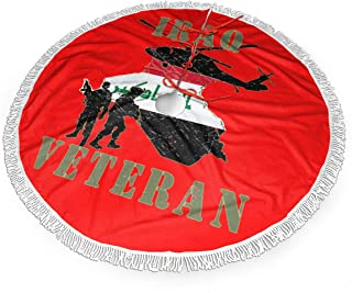 ETGMK Iraqi Freedom Veteran Christmas Tree Skirt 30
