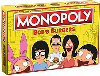 Monopoly Bobs Burgers Board Game   Themed Bob Burgers TV Show Monopoly Game   Officially Licensed Bob's Burgers Game
