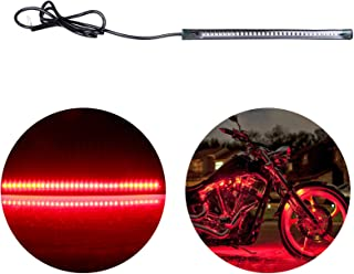 cciyu Motorcycle Brake Light 7.09Inch Yellow Turn Signal Light Light Strips Reverse Lights Replacement fit for Car RV SUV Motorcycle Bike ATV, Brake/Running Tail Light,1Pack