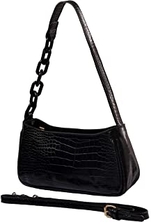 Clutch Purse Shoulder Bag Tote Handbag With Zipper Closure For Women