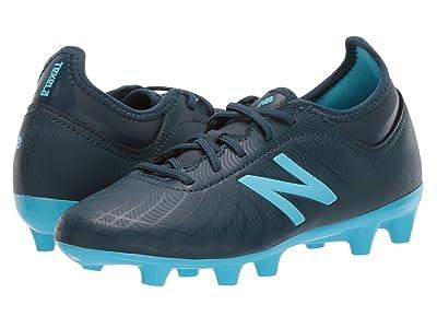 New Balance Kids JSTTFv2 Soccer (Little Kid/Big Kid) (Supercell/Bayside Blue) Kids Shoes