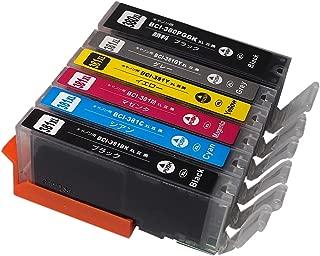 3年保証 キャノン (CANON) BCI-381/380シリーズ BCI-381XL+380XL/6MP PIXUS TS8330 / TS8230 / TS8130 対応 大容量 互換 インクカートリッジ 6色セット ベルカラー
