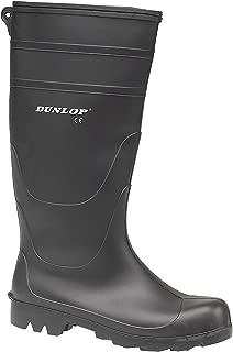 Dunlop - Botas de agua estilo Wellington de PVC modelo