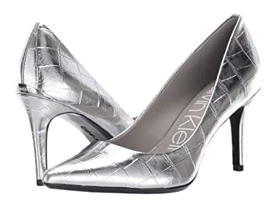 Calvin Klein Gayle Pump (Silver) High Heels