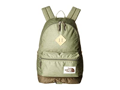 The North Face Berkeley Backpack (Four Leaf Clover Dark Heather/New Taupe Green Dark Heather) Backpack Bags
