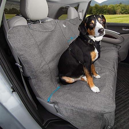 Kurgo K01958 Anti Rutsch Hunde Bezug Auto Hundedecke Auto Rückbank Grau Meliert 1528 G Haustier