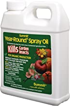 Summit 114-12 Year-Round Spray Oil for Garden Insects Concentrate, 32-Ounce