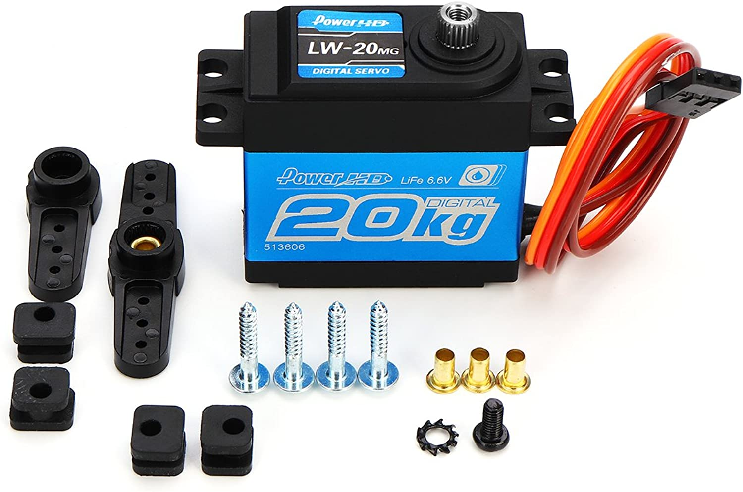 KINGDUO Power Hd Lw-20Mg Wasserdicht High-Torque Metal Teeth Digital Servo Für Smart Robot Car & Robot