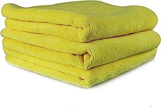 Toalha de microfibra profissional Workhorse, amarela